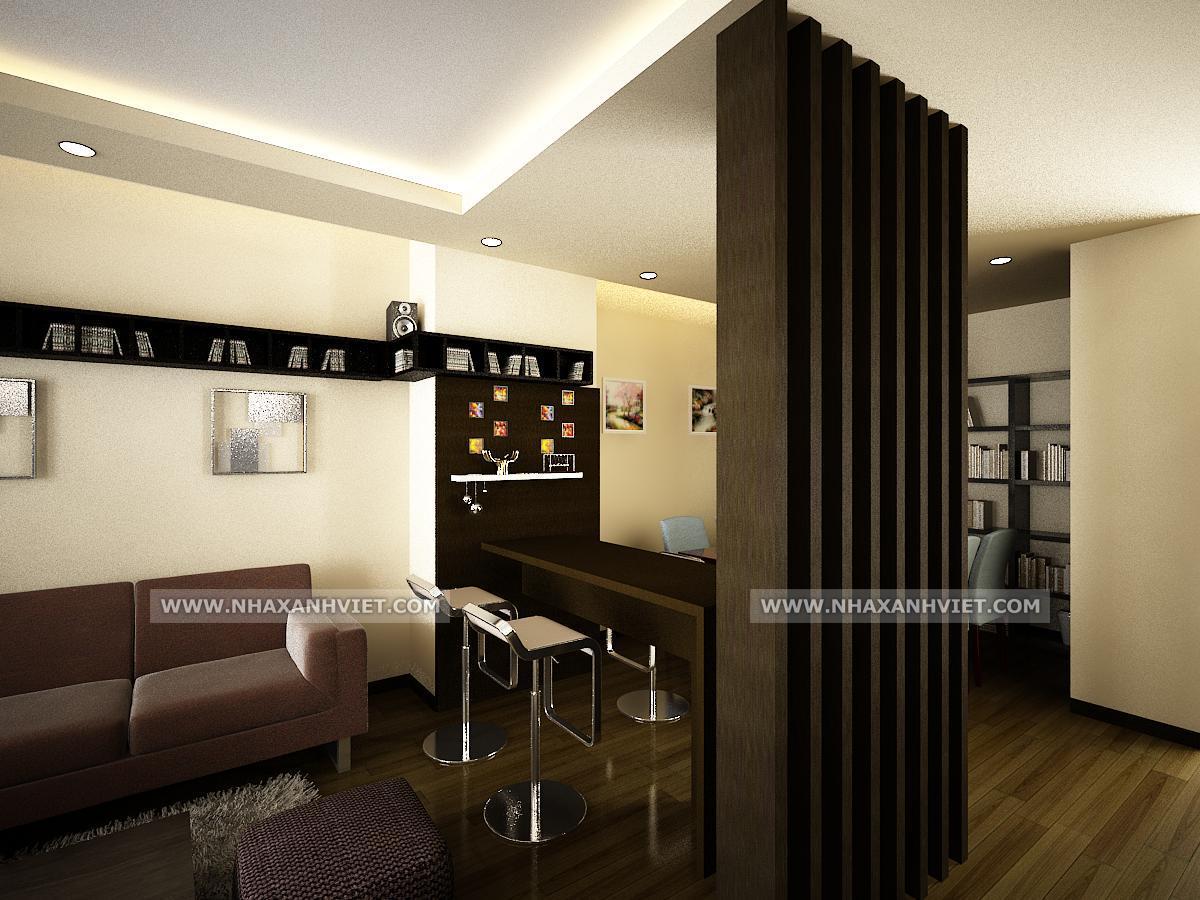 Phòng bếp nhà anh Nam - StarCity