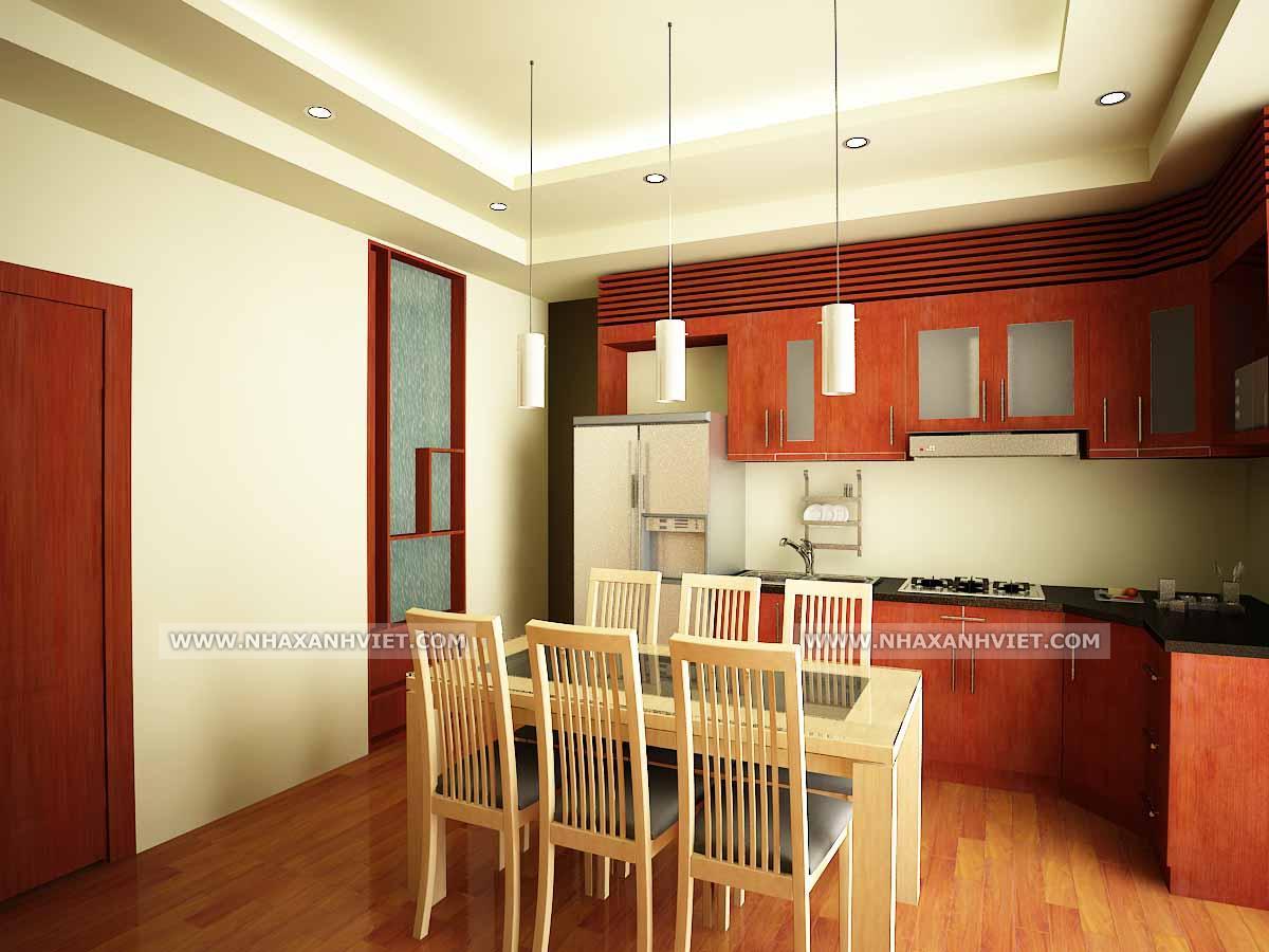 Phòng bếp nhà anh Thạch - Westa
