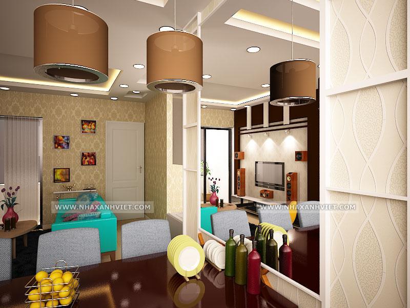 Phòng bếp nhà chị Lan Anh - Ecopark