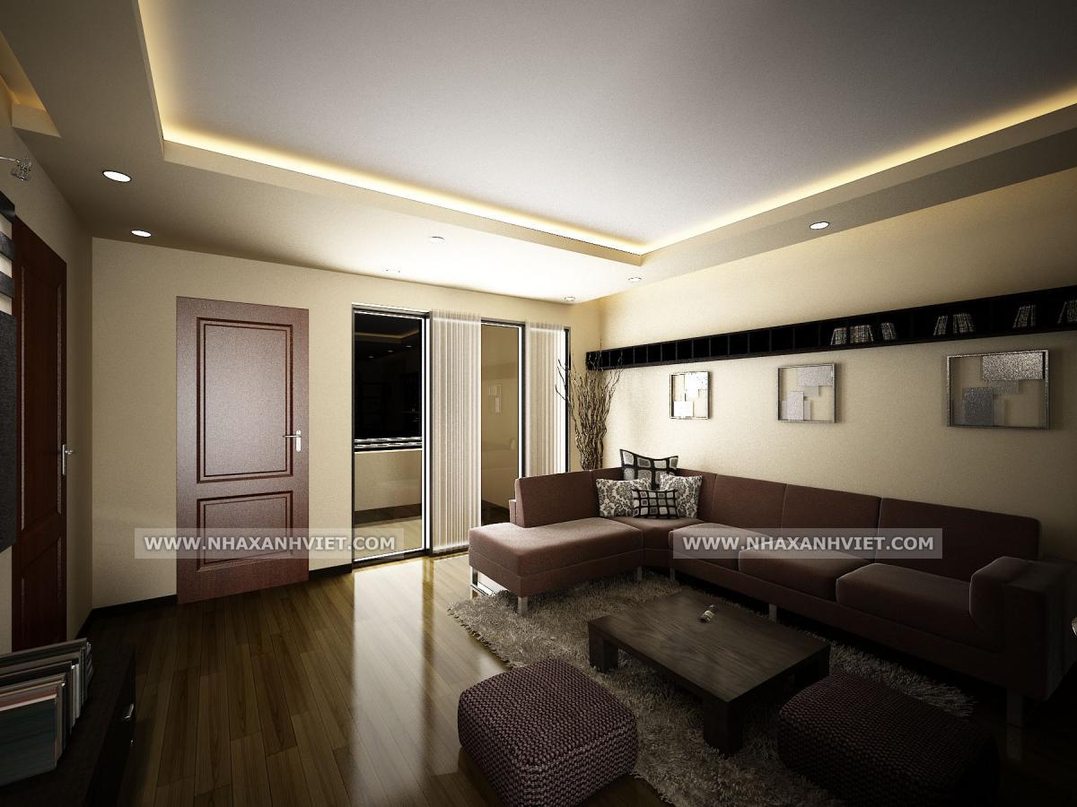 Phòng khách nhà anh Nam - StarCity