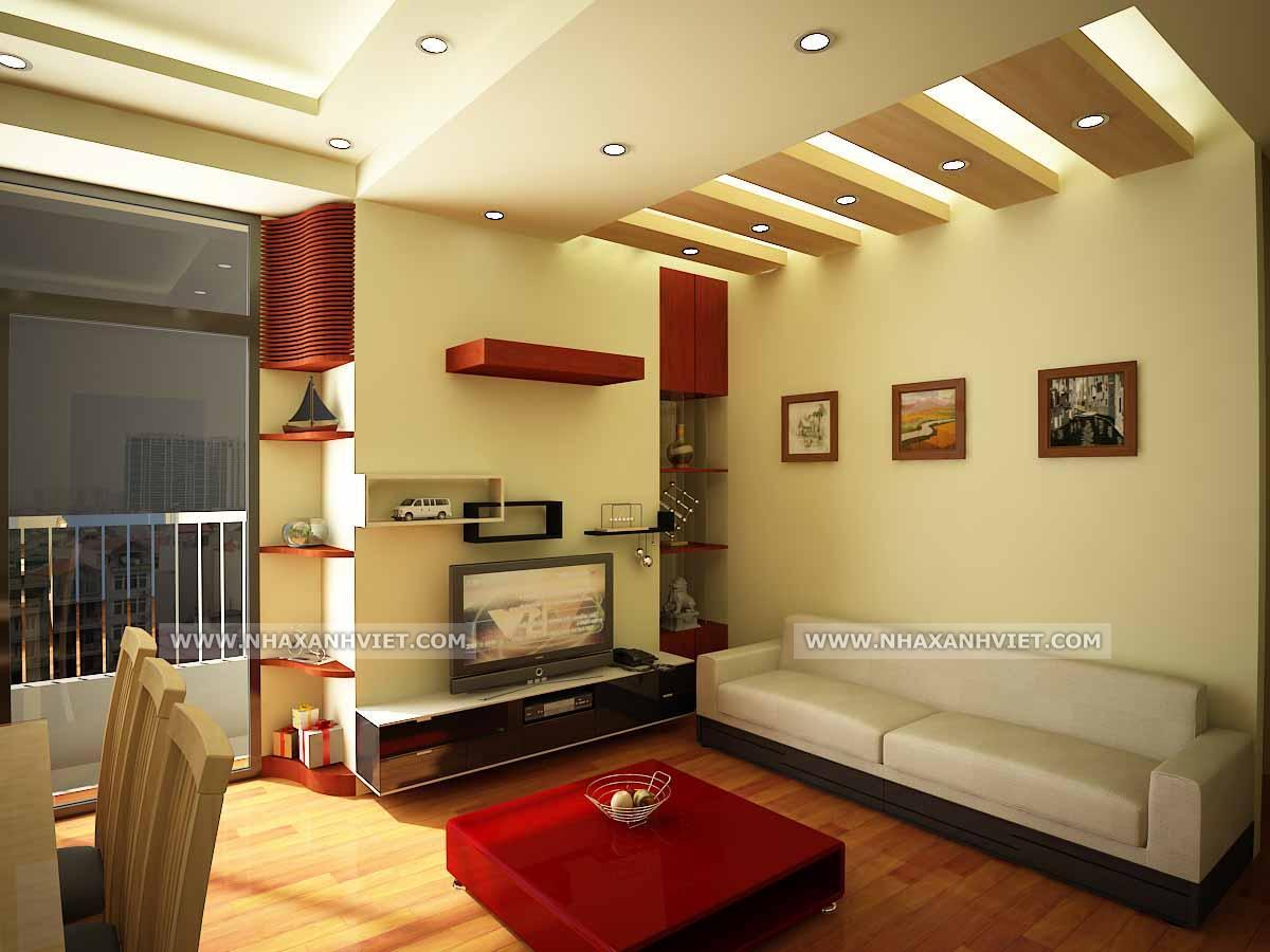 Phòng khách nhà anh Thạch - Westa
