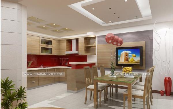 Trần thạch cao phòng bếp – VIN 1