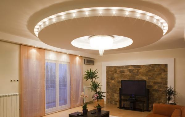 Trần thạch cao phòng khách – VIN 1