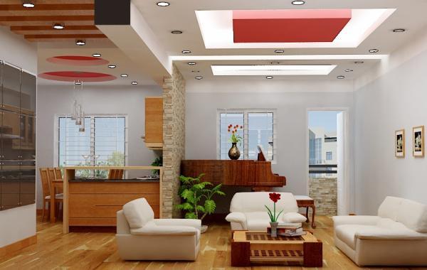 Trần thạch cao phòng khách – VIN 3