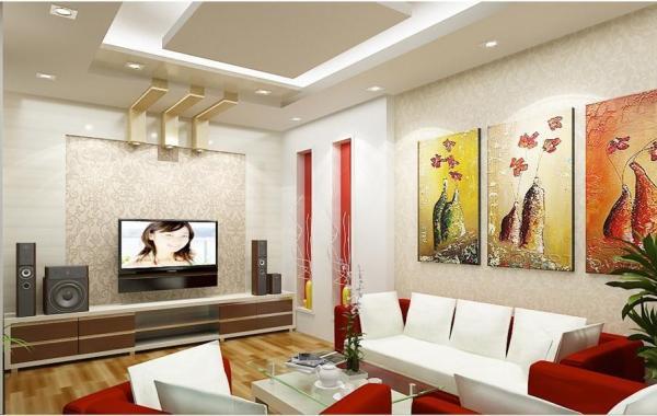 Trần thạch cao phòng khách – VIN 7