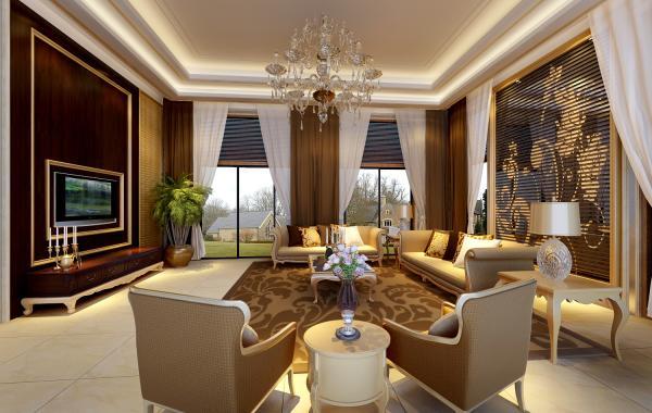 Trần thạch cao phòng khách – VIN 9