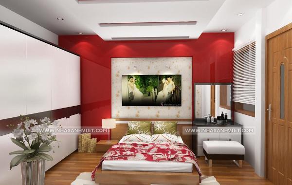 Trần thạch cao phòng ngủ – VIN 4