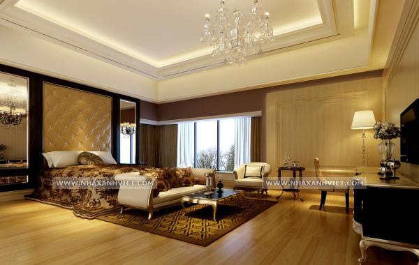 Trần thạch cao phòng ngủ – VIN 5