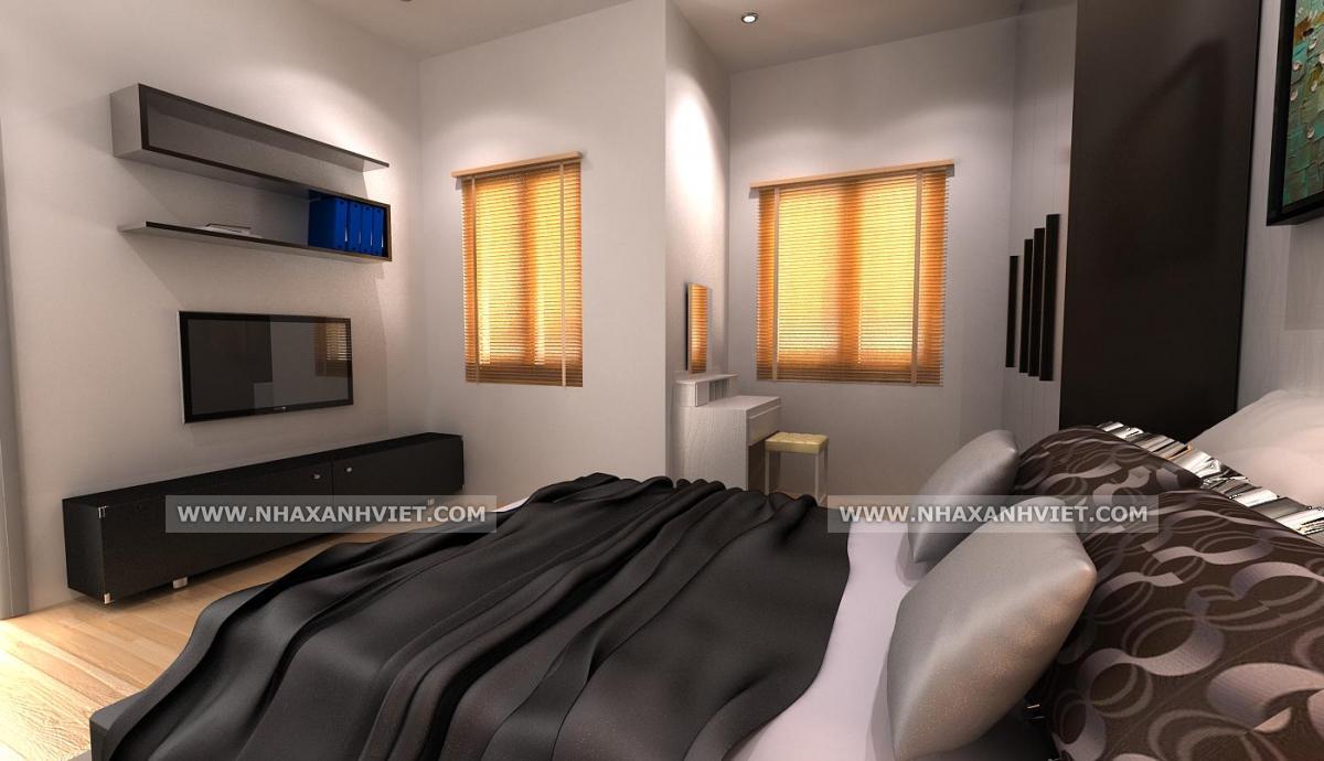 Phòng ngủ ấm áp và trang nhã