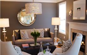 Mẫu thiết kế phòng khách đẹp cho căn hộ chung cư