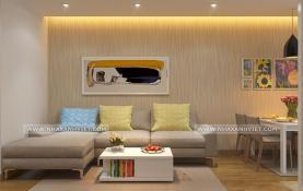 Thiết kế nội thất nhà anh Quang – Xuân Mai Park State