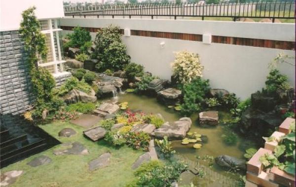 Thiết kế ngoại thất biệt thự nhà vườn