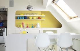 4 mẫu tủ bếp trẻ trung hiện đại