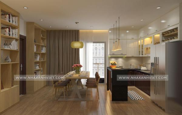 Thiết kế nội thất nhà chị Hà – 33 Đặng Trần Côn