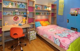 Thiết kế nội thất phòng của bé