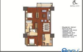 Thiết kế nội thất chung cư royal city R1 đẹp