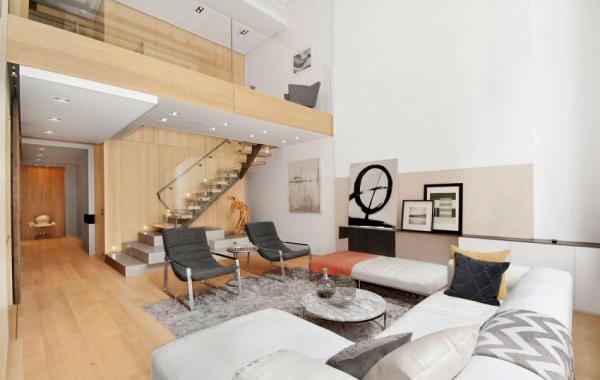 Thiết kế nội thất nhà phố có cầu thang đẹp