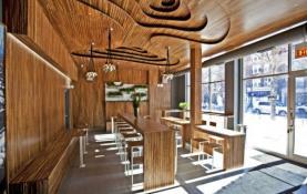 thiết kế không gian nội thất quán cafe nhỏ đẹp
