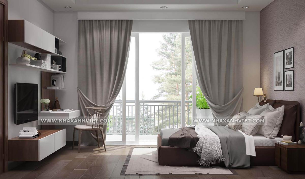 Thiết kế nội thất phòng ngủ biệt thự Park City