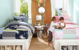 Thiết kế nội thất phòng ngủ chung cư cho bé trai và bé gái