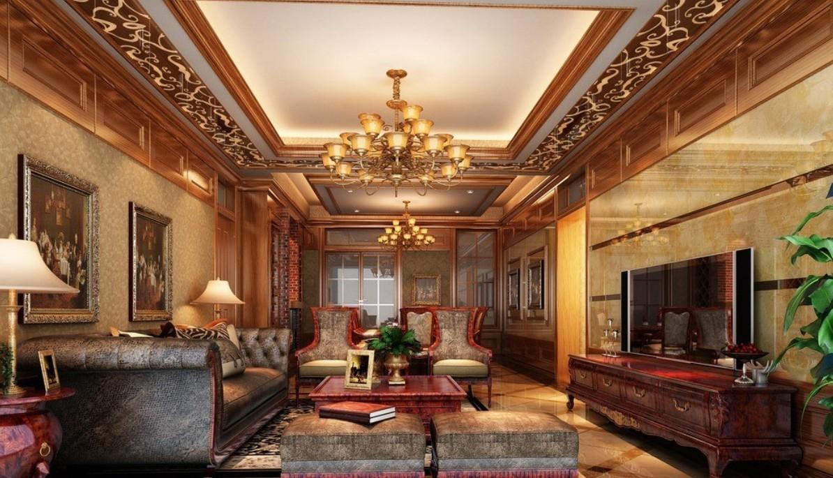 Mẫu thiết kế nội thất biệt thự phong cách quý phái đẹp