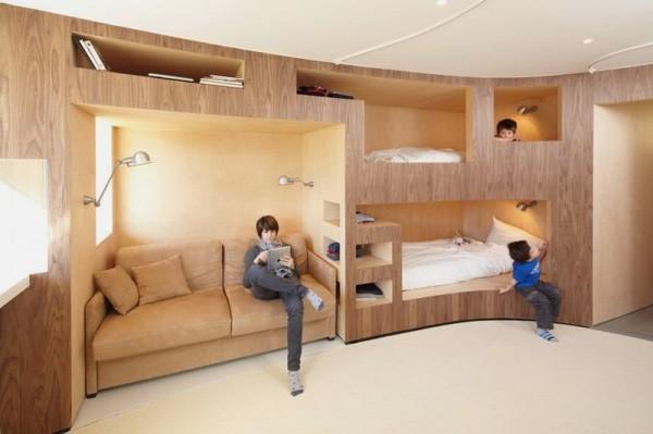 Nội thất được thiết kế thông minh giúp tiết kiệm diện tích tối đa