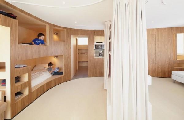 Thiết kế nội thất phòng ngủ nhà chung cư siêu nhỏ