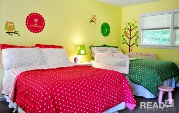 10 mẫu thiết kế nội thất phòng ngủ cho nhà có 2 bé gái