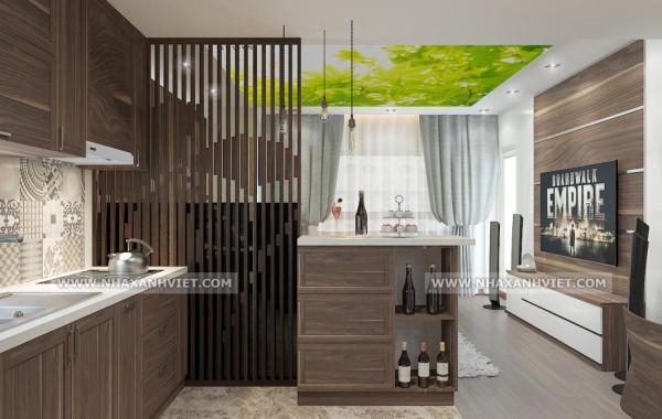 Thiết kế nội thất nhà anh Tuấn – Làng quốc tế Thăng Long
