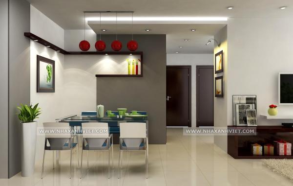 Trần thạch cao phòng bếp – VIN 5