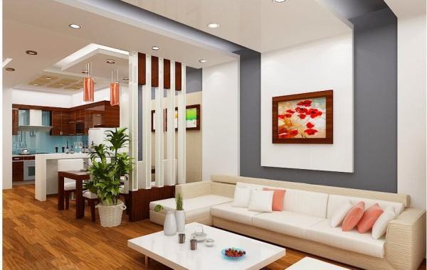 Trần thạch cao phòng khách – VIN 6