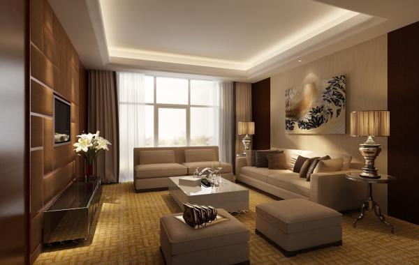 Trần thạch cao phòng khách – VIN 8
