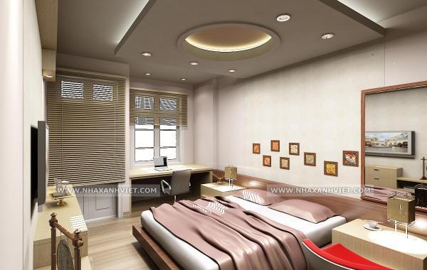 Trần thạch cao phòng ngủ – VIN 3