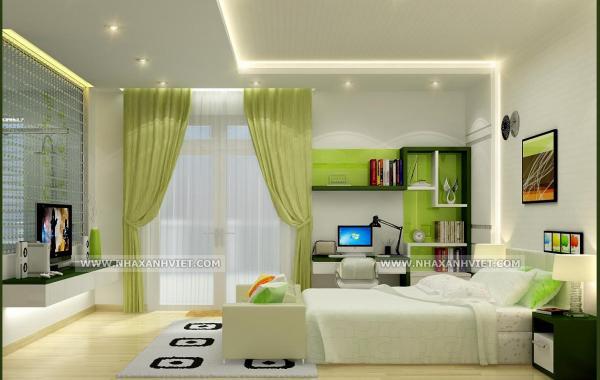 Trần thạch cao phòng ngủ – VIN 8