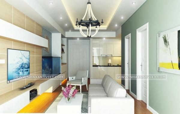 Thiết kế nội thất nhà anh Tuấn Anh – Mipec