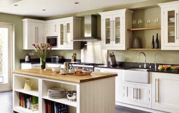 Thiết kế tủ bếp có đảo cao cấp thuận tiện và hiện đại