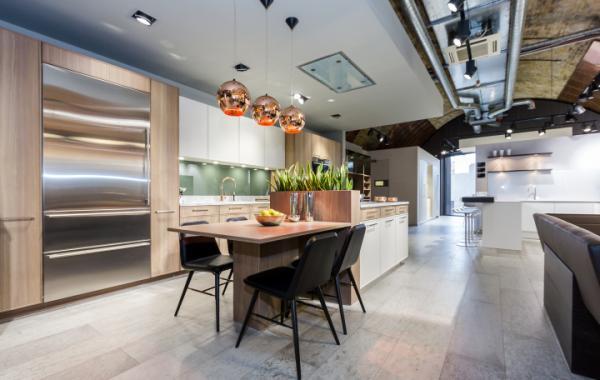 Thiết kế nội thất showroom bán bếp